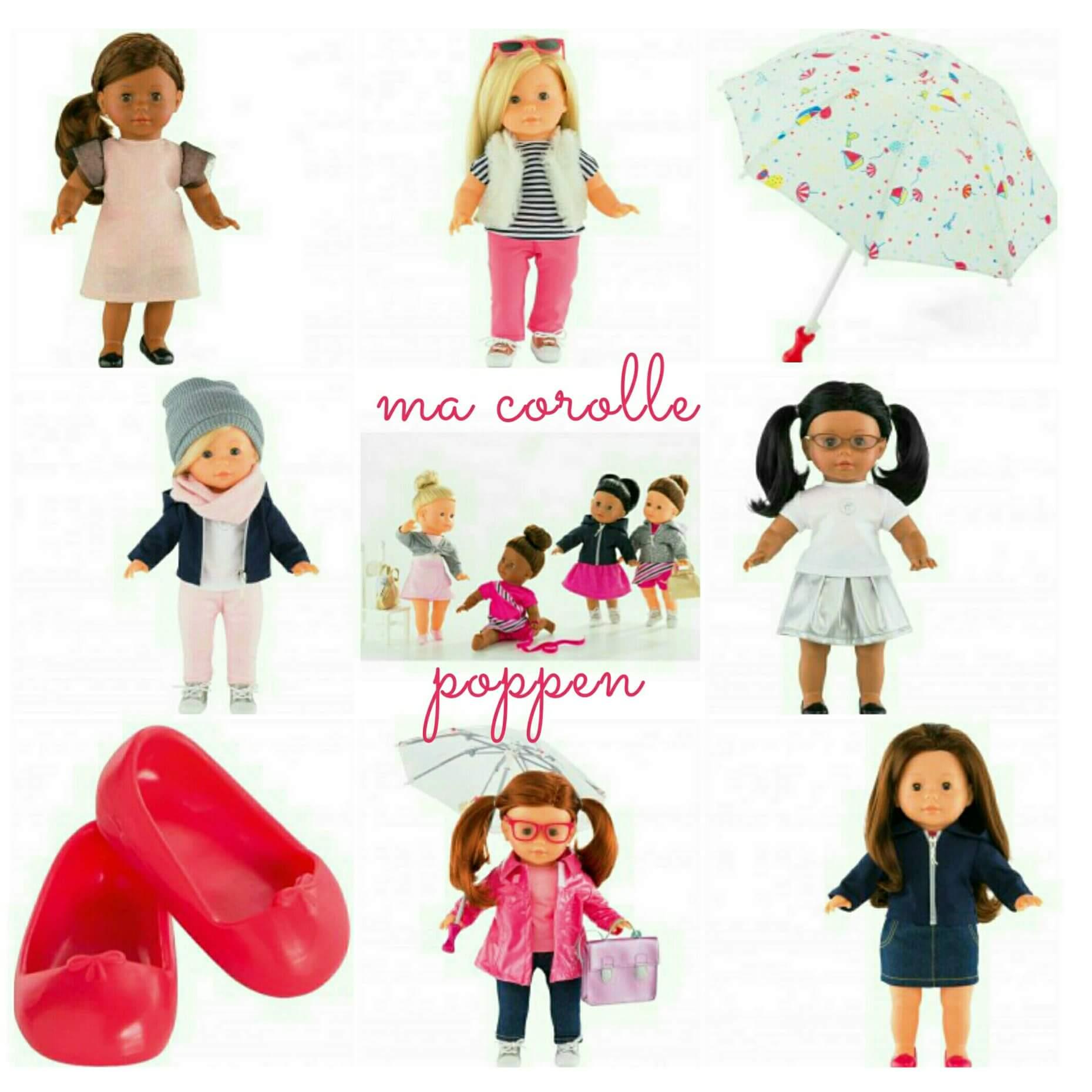 Ma Corolle: super schattige poppen waar je de kleertjes bij kunt zoeken