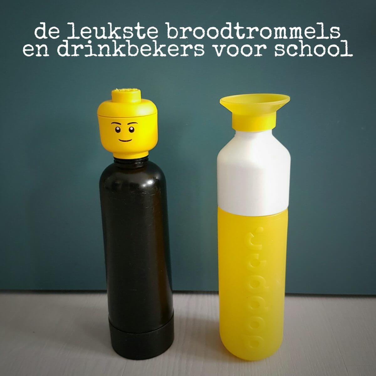 De leukste broodtrommels en drinkbekers voor school - lego en dopper