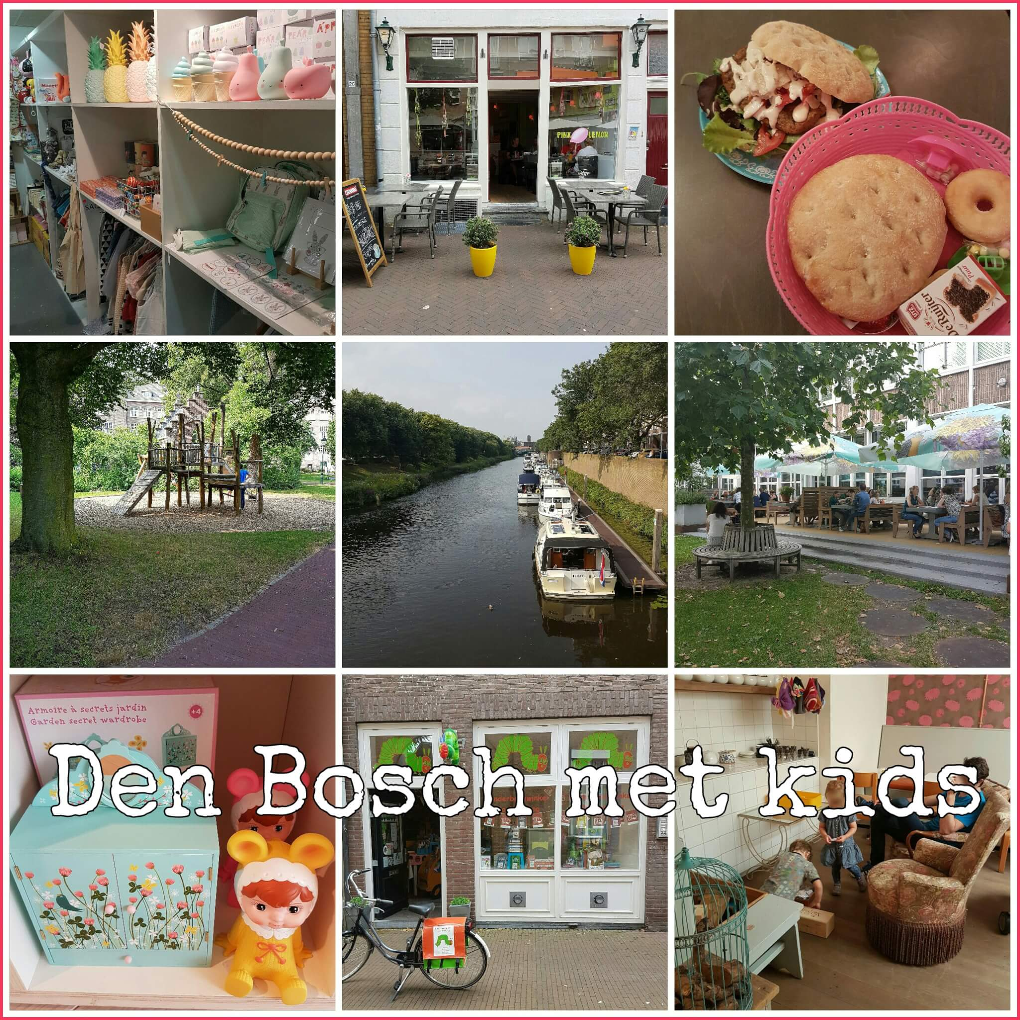 Den Bosch met kids kinderwinkels, restaurants, varen en naar de speeltuin