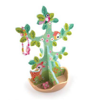 cadeaus 4 of 5 jaar - djeco sieradenboom