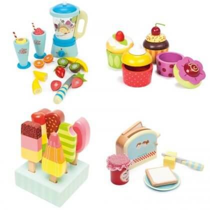 cadeaus 4 of 5 jaar - Le Toy Van keukenspullen