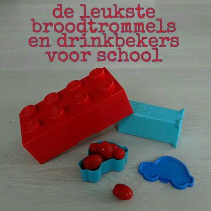 De leukste broodtrommels en drinkbekers voor school - lego en difrax