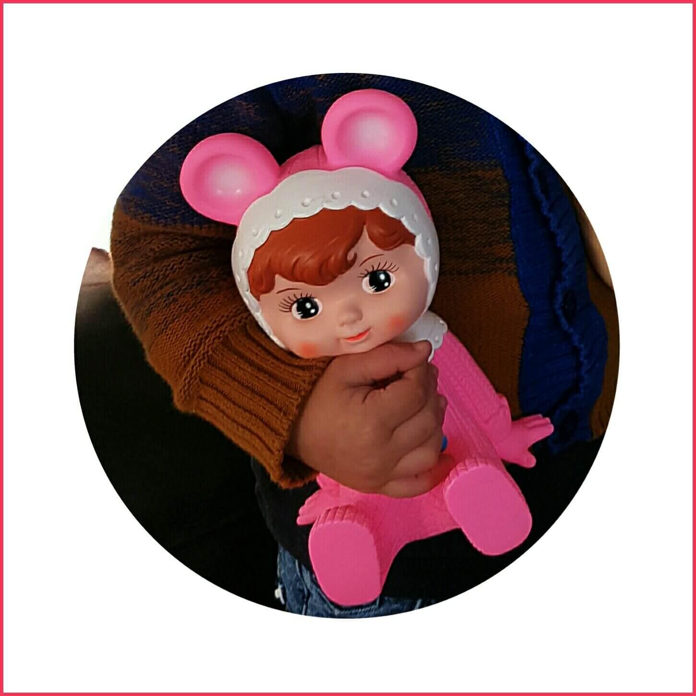 Retro popje met een mooi verhaal - Woodland Doll van Lapin and Me