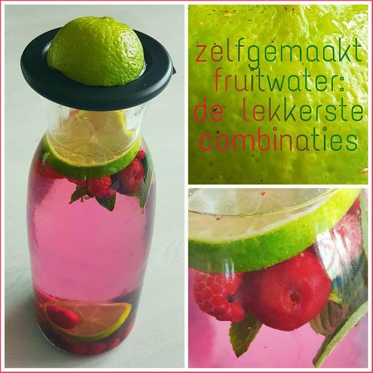 Zelfgemaakt fruitwater de lekkerste combinaties