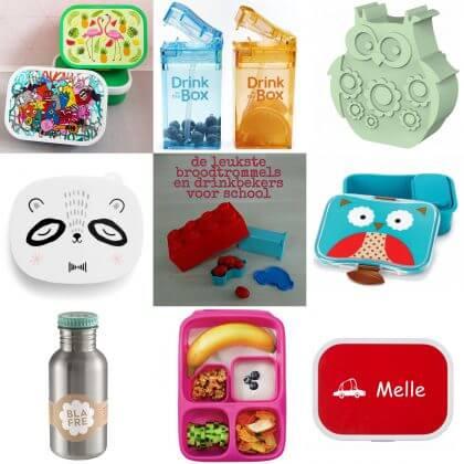 Verjaardagscadeau voor kids: leuke cadeau tips voor kinderen: broodtrommels voor kids