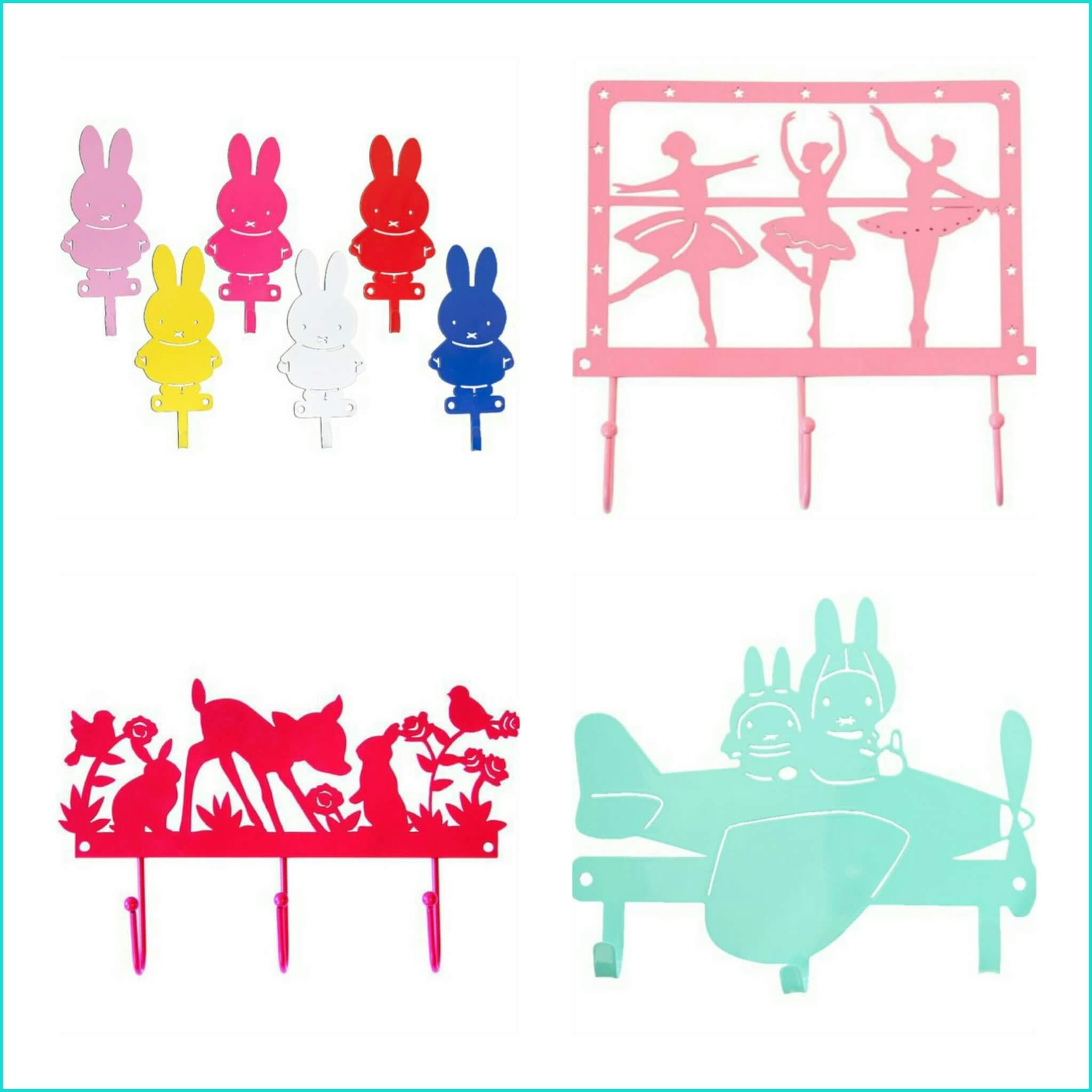 De leukste kinderkapstokken voor de gang of kinderkamer leuk met kids - Kleuridee voor een gang ...