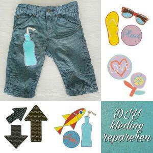 DIY: kleding repareren met coole strijk emblemen