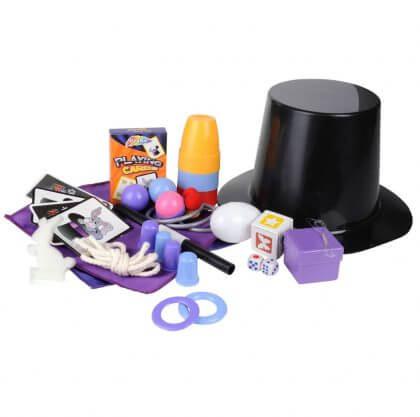 Verjaardagscadeau voor kids van 6, 7 of 8 jaar: leuke cadeau tips voor de kinderen - goocheltrucs set met goochelhoed