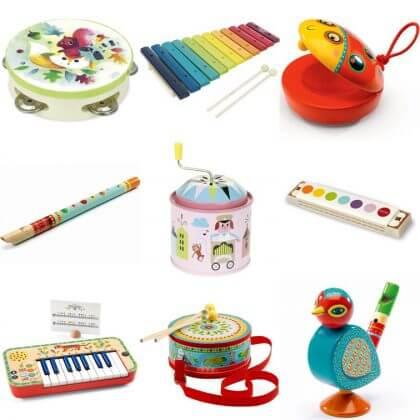 Verjaardagscadeau voor kids van 4 jaar of 5 jaar leuke cadeau tips voor kleuters: muziekinstrumenten
