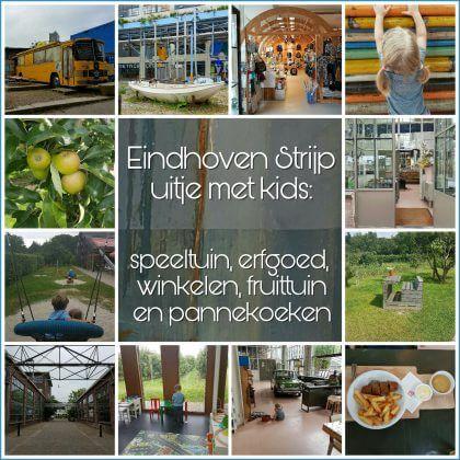 Uitje met kinderen: naar de landelijke en industriële Strijp in Eindhoven