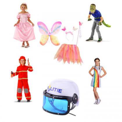 Verjaardagscadeau voor kids van 6, 7 of 8 jaar: leuke cadeau tips voor de kinderen - verkleedkleding