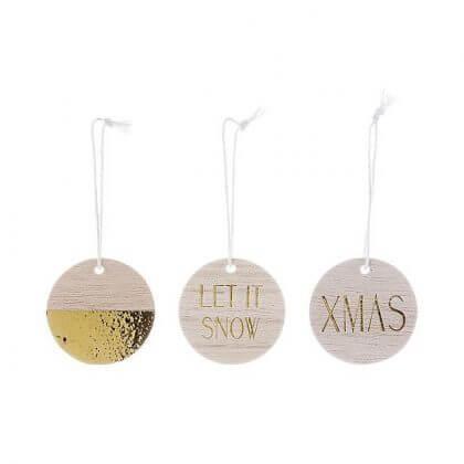 bloomingville kersthangers - bloomingville kerstballen - De leukste kindvriendelijke kerstballen en kerstboomhangers in de winkels
