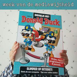 Digiwijs met Donald Duck, zo leer je je kind meer over het internet