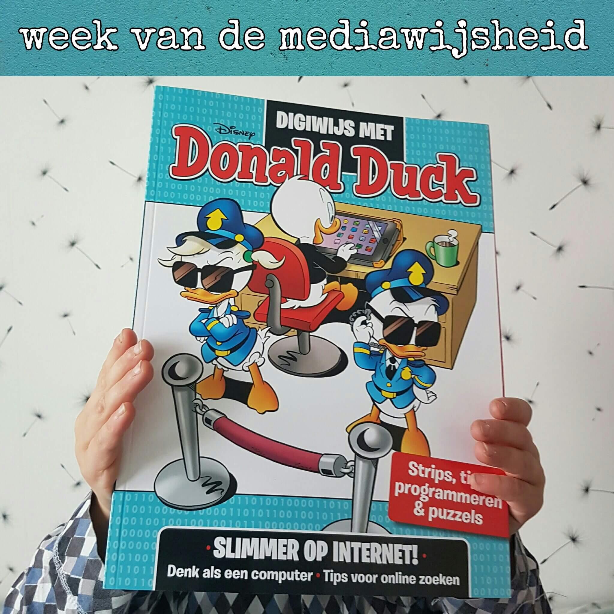Digwijs met Donald Duck, zo leer je je kind meer over het internet