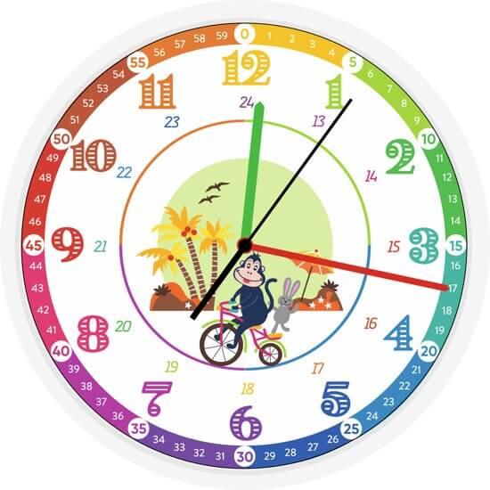 Klok als verjaardagscadeau voor kinderen