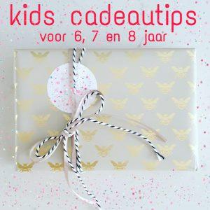 Verjaardag cadeau ideeën voor kinderen van 6, 7 of 8 jaar