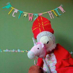 Verrassing: Sint en Piet waren hier