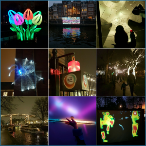 Uittip met kids: lichtjes kijken bij het Amsterdam Light Festival, met handige tips