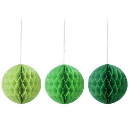 De leukste kindvriendelijke kerstballen en kerstboomhangers in de winkels - Hema papieren bollen