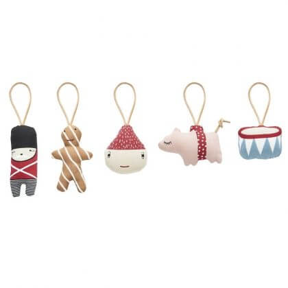 De leukste kindvriendelijke kerstballen en kerstboomhangers in de winkels - oyoy mini