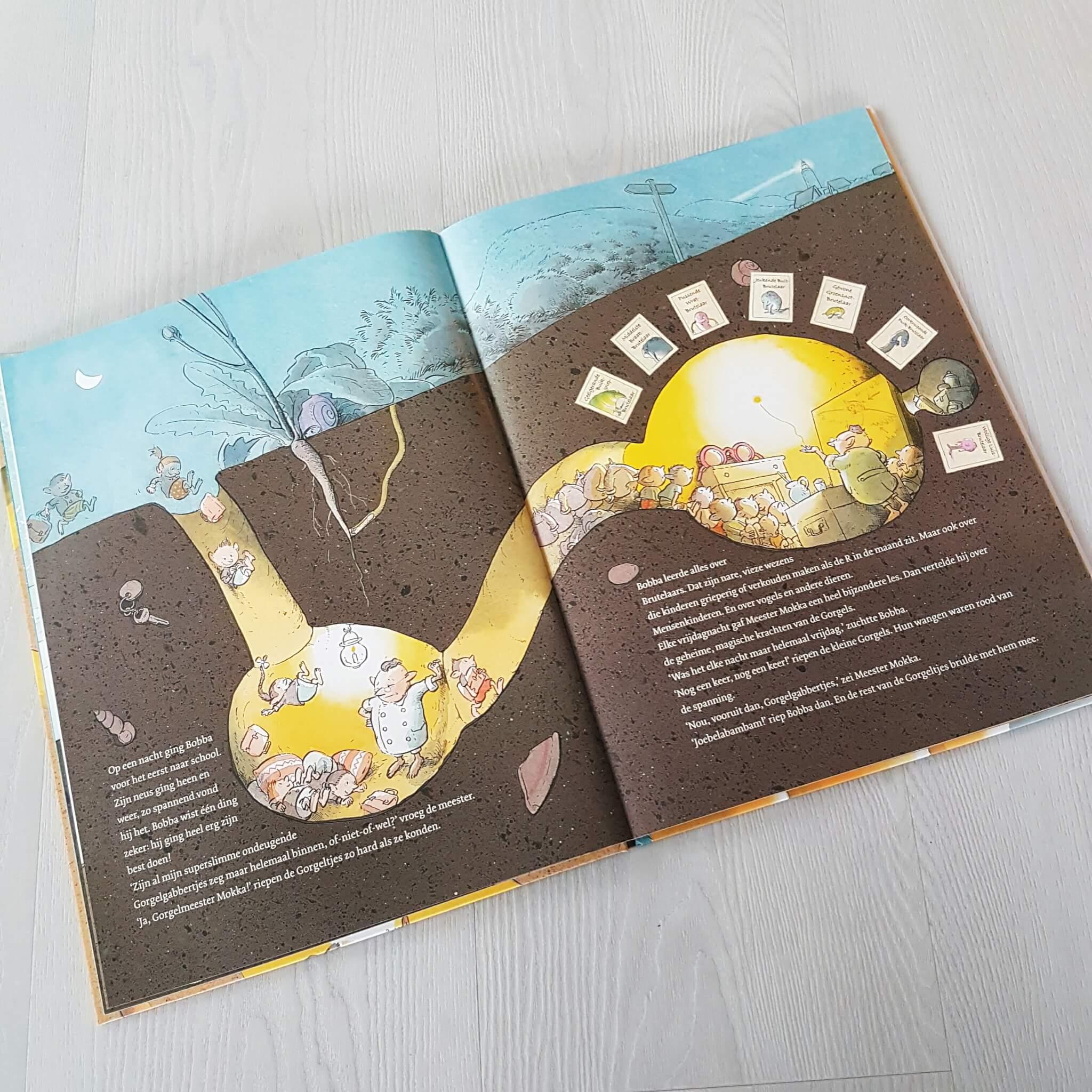 Boekentip: prentenboek over de Wereld van de Gorgels