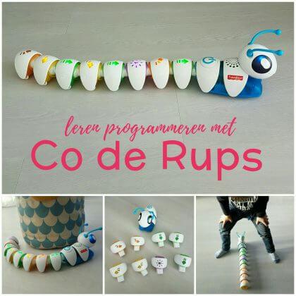 Kleuters en peuters leren programmeren met de Co-de-Rups