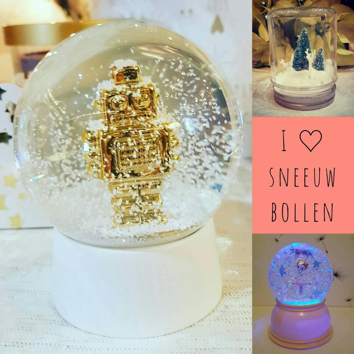 De leukste sneeuwbollen voor kerst, zelfgemaakt én in de winkels