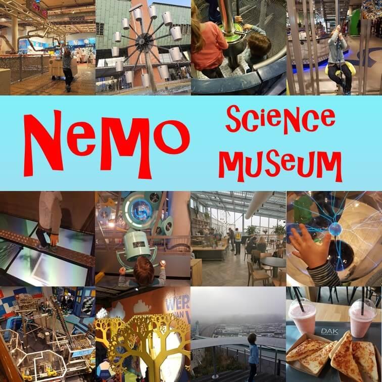 Dagje Nemo Science Museum In Amsterdam Met Kinderen Leuk Met Kids