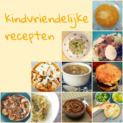 Heel veel gezonde kindvriendelijke recepten die je baby, peuter, kleuter en schoolkind wel eten