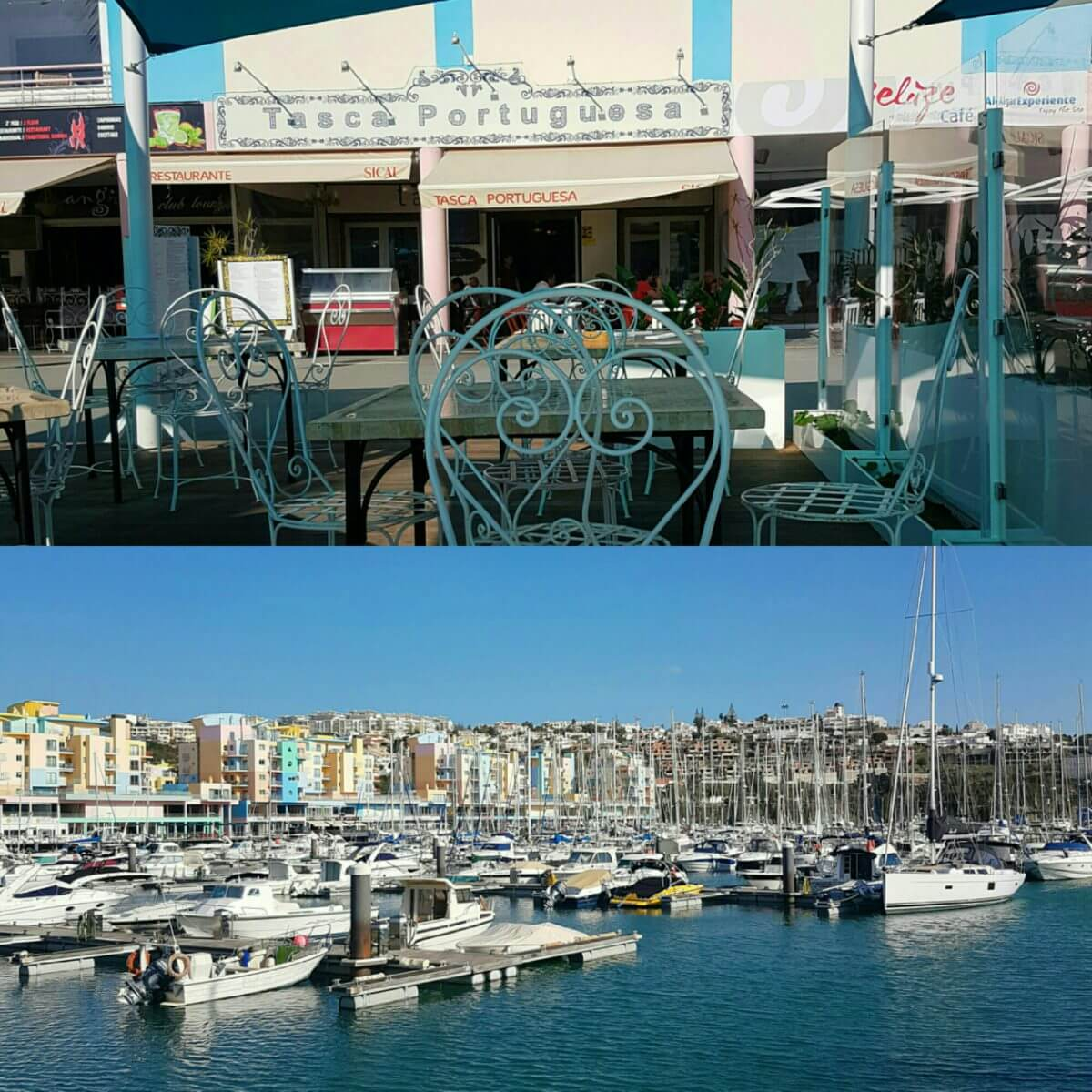 De leukste kindvriendelijke restaurants in de Algarve - Childfriendly restaurants Algarve with kids - Albufeira Marina Tasca Porguesa
