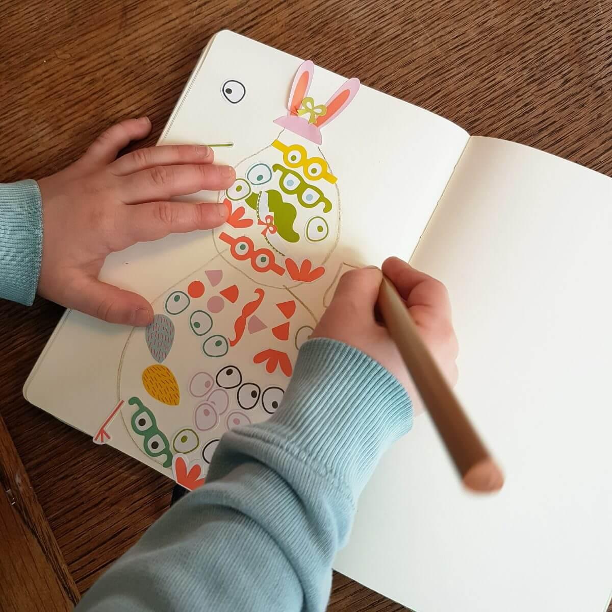 Paaseieren versieren met kinderen