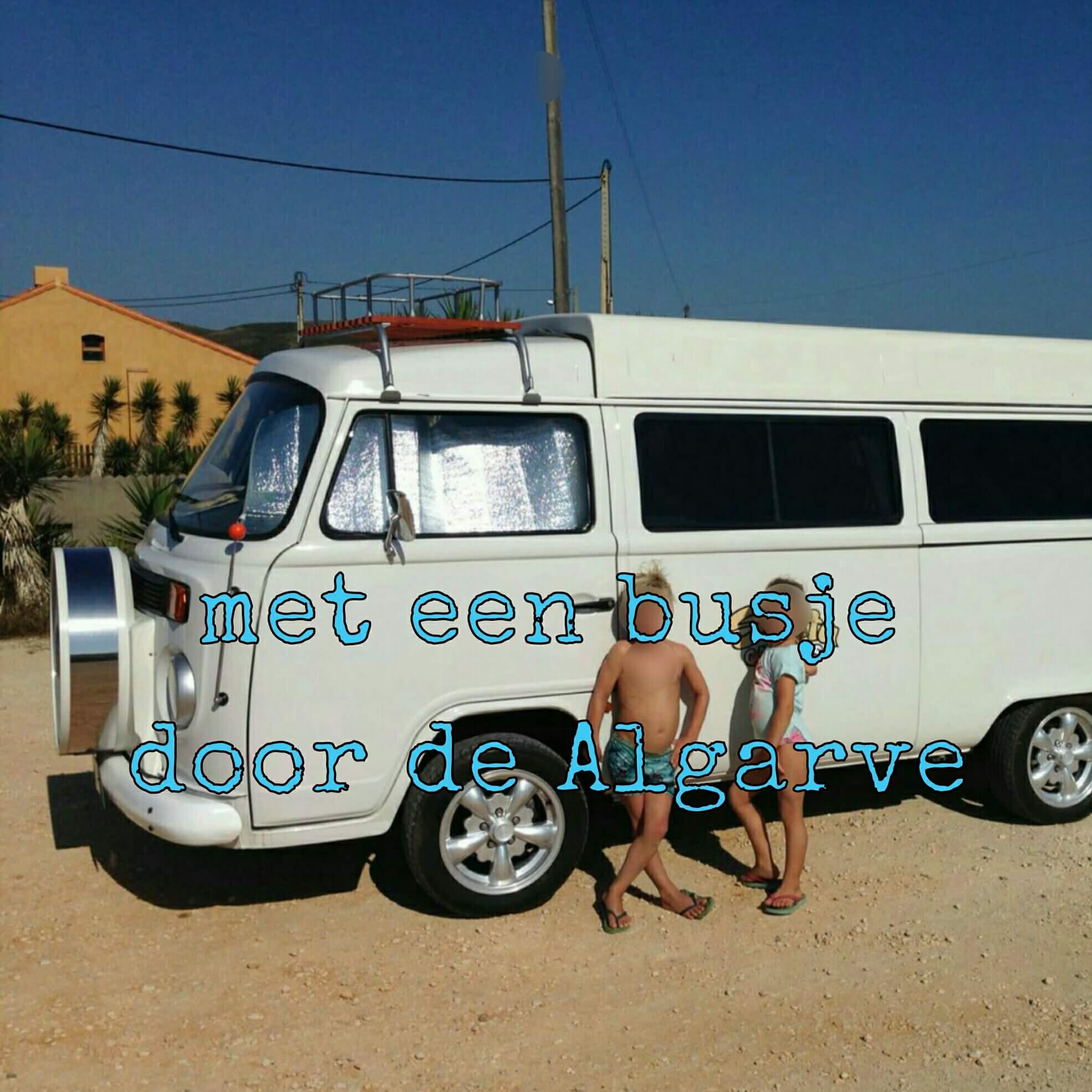 Algarve met kids: Albufeira en Olhos d'Agua -  Volkswagen busje huren