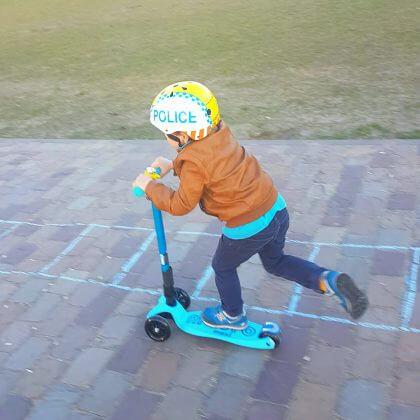 Verjaardagscadeau voor kids: maxi micro step
