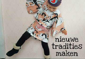 Nieuwe tradities maken: de kleine dame mag zelf een jurk uitzoeken