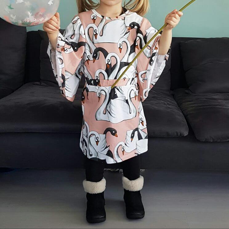 Nieuwe tradities maken: onze kleine dame mocht zelf een jurk uitzoeken