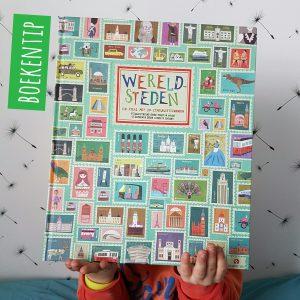 Boekentip: Wereldsteden, met prachtige getekende plattegronden