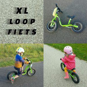XL loopfiets voor grote peuters en kleuters