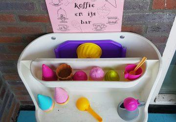 DIY voor tuin of balkon: ijs- en koffiebarretje voor de kinderen