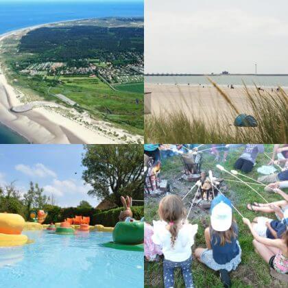 Een overzicht van heel veel leuke idyllische campings in Nederland met kids #leukmetkids Camping Duinoord in Burgh Haamstede op Schouwen Duiveland, Zeeland