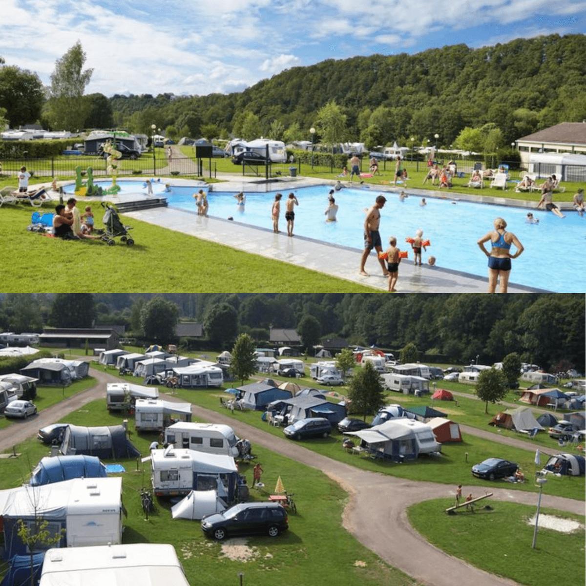 Een overzicht van heel veel leuke idyllische campings in Nederland met kids #leukmetkids Camping Spa d'Or, Jalhay, in de Belgische Ardennen