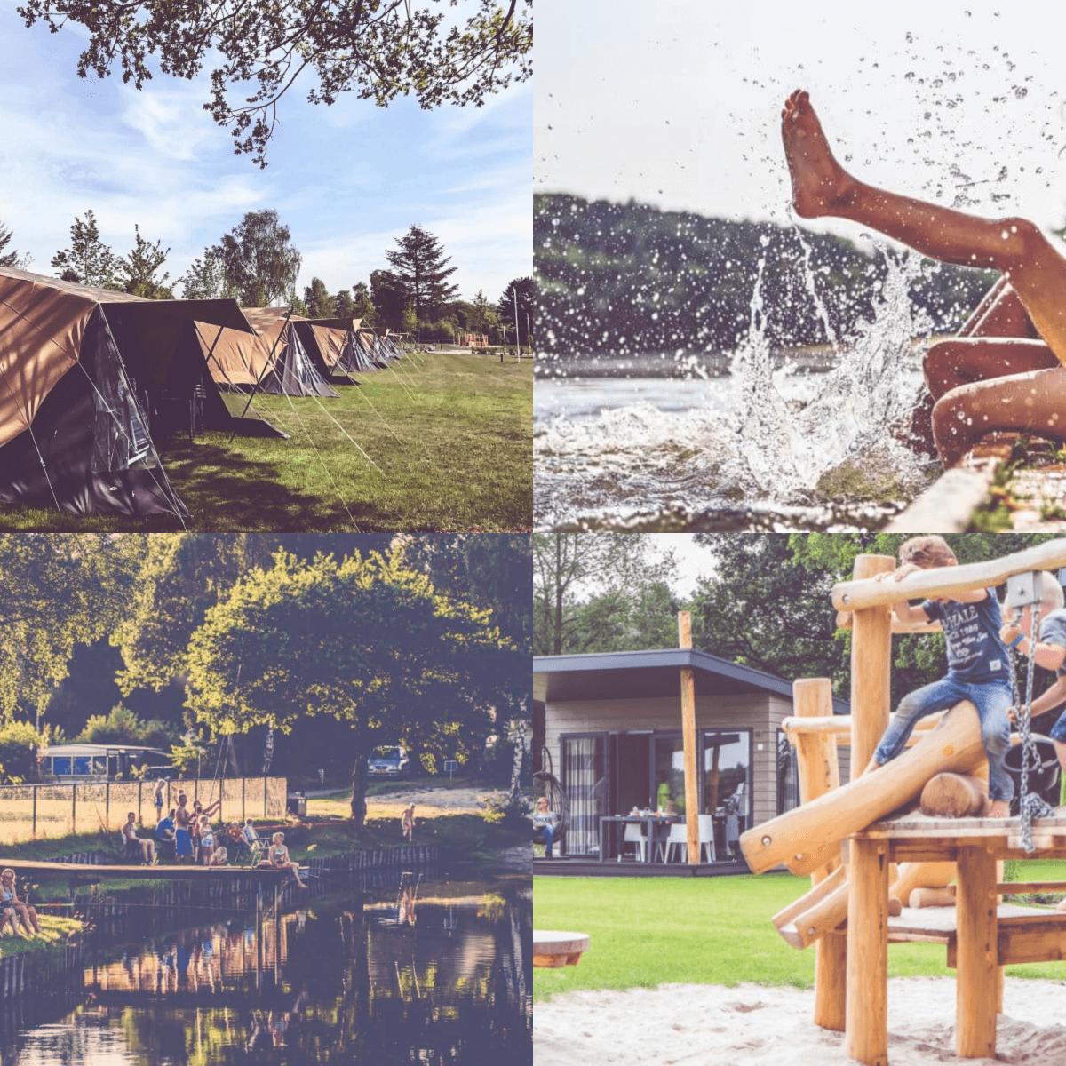 Een overzicht van heel veel leuke idyllische campings in Nederland met kids #leukmetkids Familiecamping De Belten in Rheeze bij Ommen en Hardenberg, Overijssel