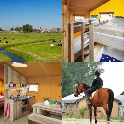 Een overzicht van heel veel leuke idyllische campings in Nederland met kids #leukmetkids FarmCamps Fleur Stables in Oudesluis bij Callantsoog, Noord Holland