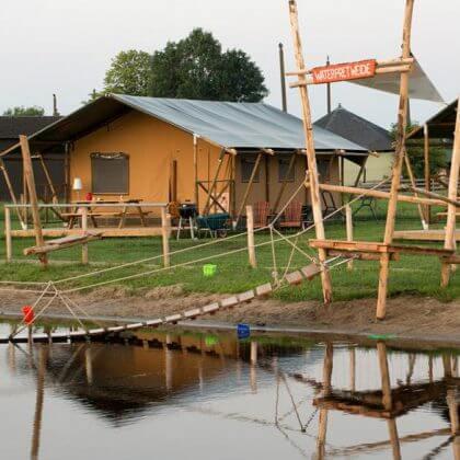 Een overzicht van heel veel leuke idyllische campings in Nederland met kids #leukmetkids FarmCamps Stolkse Weide in Stolwijk bij Gouda, Zuid Holland