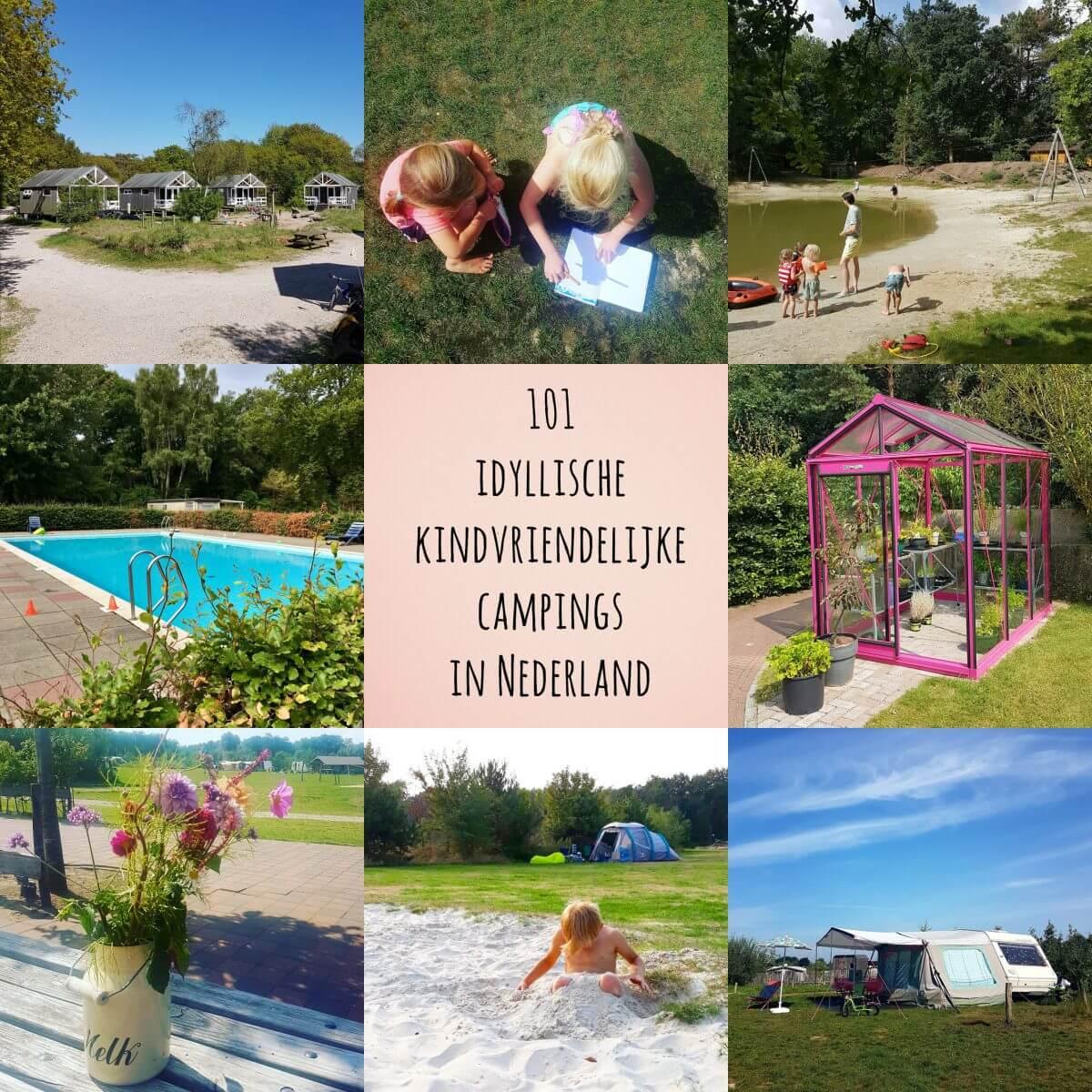 Kamperen met kinderen: 101 idyllische kindvriendelijke campings in Nederland