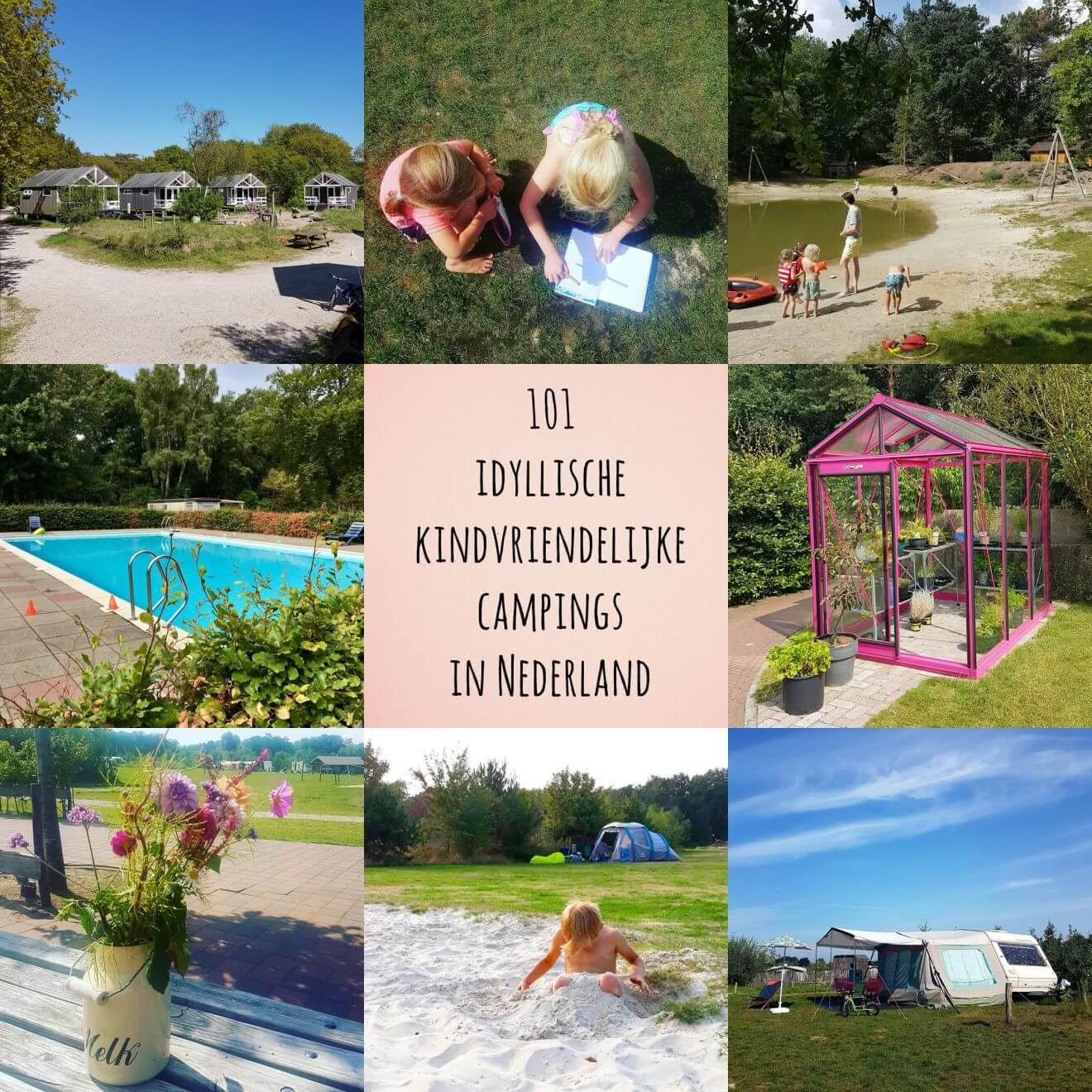 Kamperen met kinderen 101 idyllische kindvriendelijke campings in Nederland