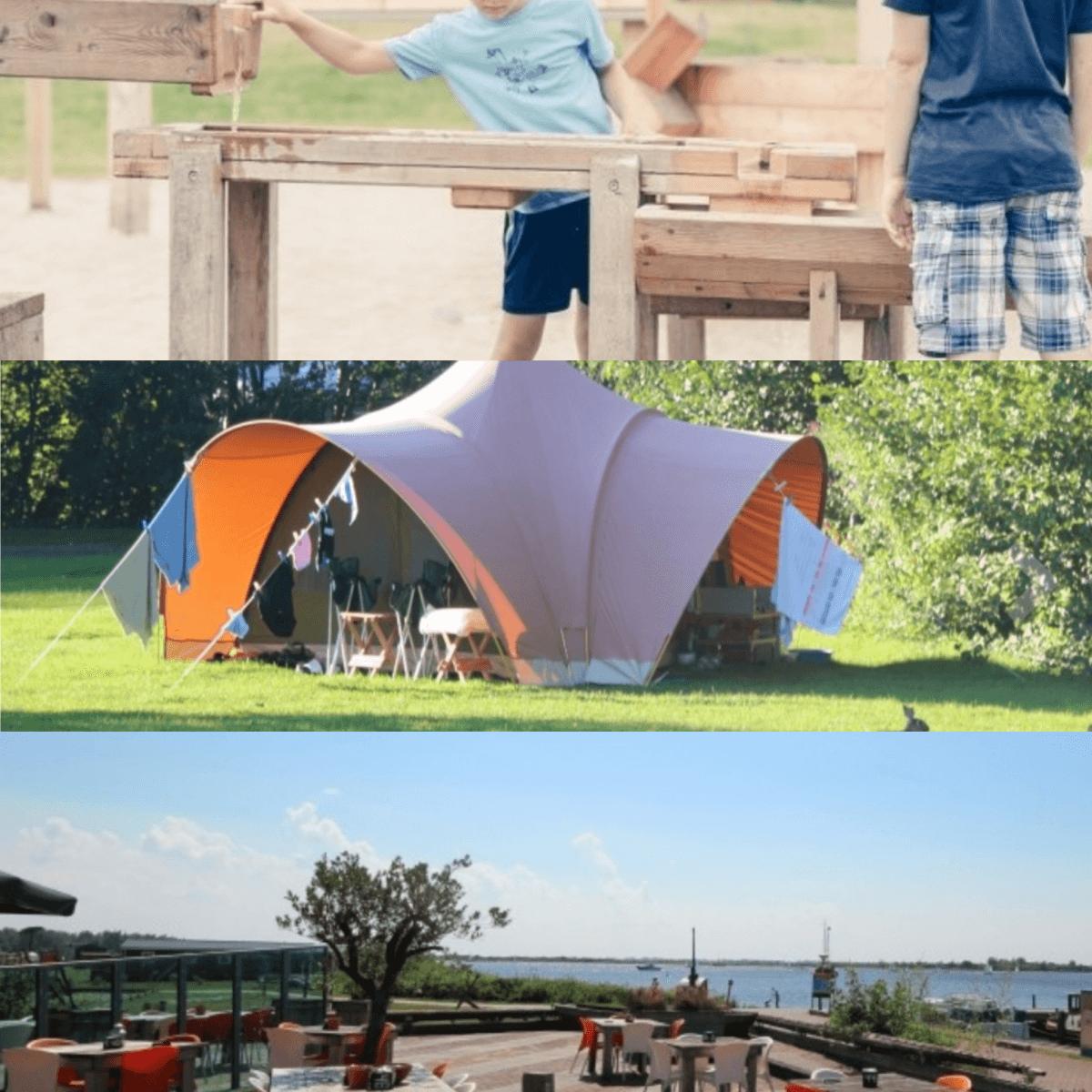 Een overzicht van heel veel leuke idyllische campings in Nederland met kids ##leukmetkids Camping Lauwersoog, Lauwersoog, Noordwest Groningen
