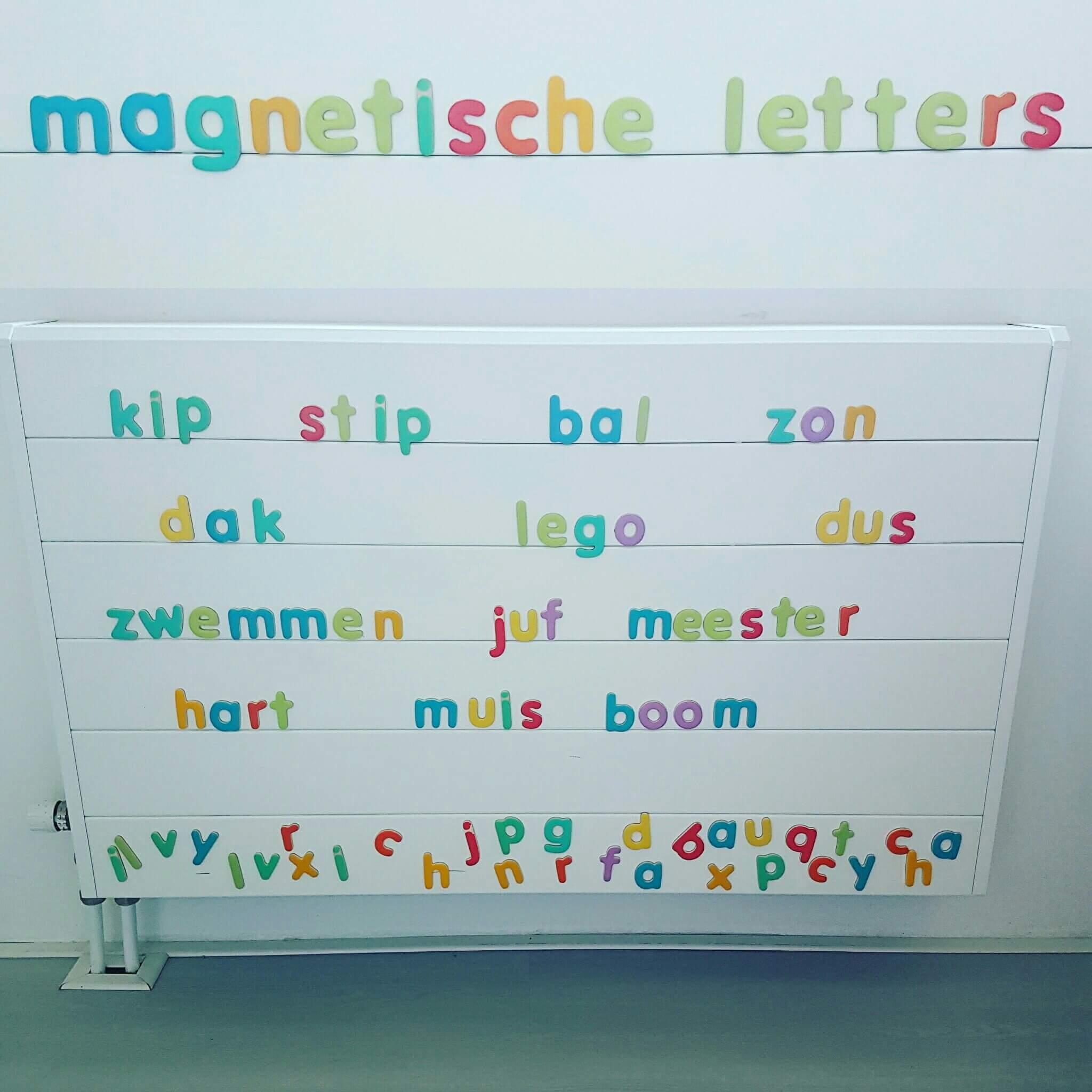 Cadeautip: Magnetische letters