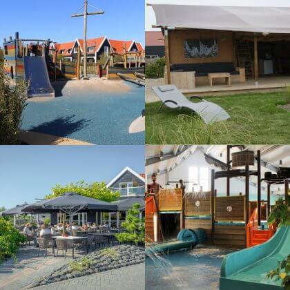 Een overzicht van heel veel leuke idyllische campings in Nederland met kids #leukmetkids Strandpark de Zeeuwsche Kust in Renesse op Schouwen Duiveland, Zeeland