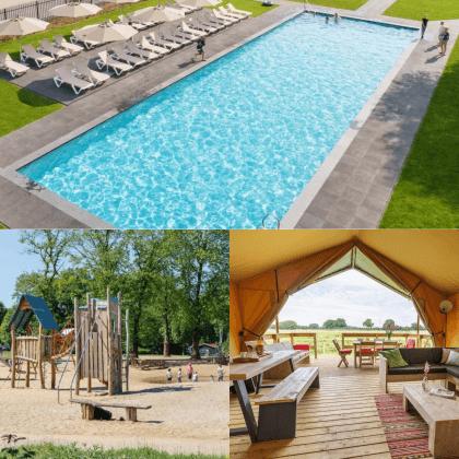 Een overzicht van heel veel leuke idyllische campings in Nederland met kids #leukmetkids Vakantiepark De Twee Bruggen in Winterswijk, Gelderland
