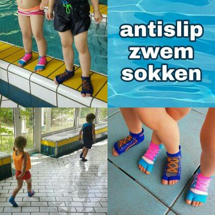 antislip zwemsokken van Ockyz